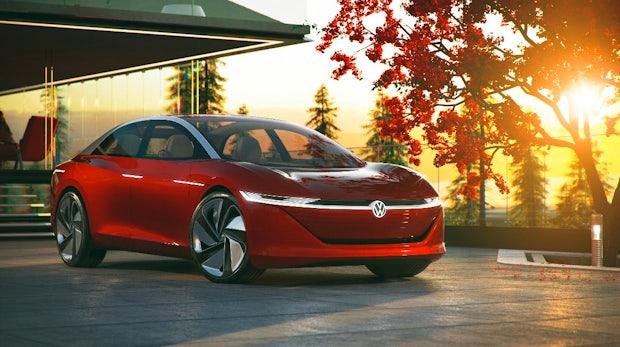 VW I.D. Vizzion: Selbstfahrende Elektro-Limousine mit über 600 Kilometern Reichweite