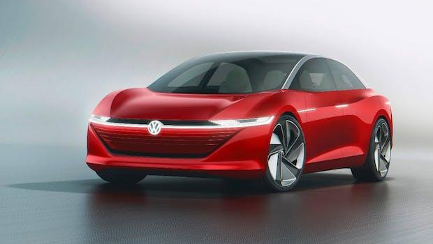 VW  I.D. Vizzion. (Bild: Volkswagen)