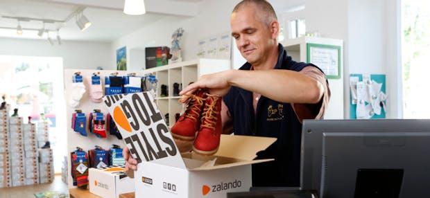 Zalando setzt zur Expansion der Plattform auf den Einzelhandel