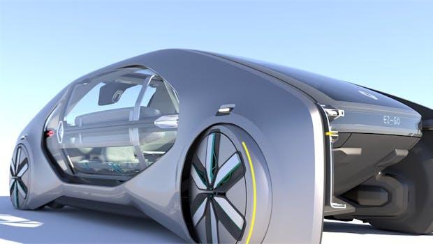 Renaults Robotaxi-Konzept EZ-GO. (Foto: Renault)