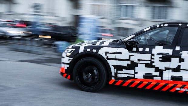 E-Tron-Prototyp. (Foto: Audi AG)