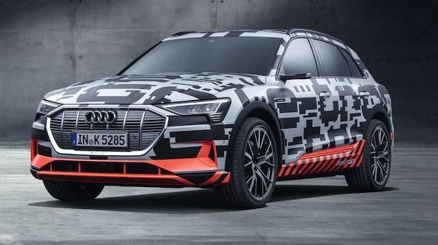 Erstes Elektroauto von Audi: E-Tron-Prototyp in Genf enthüllt