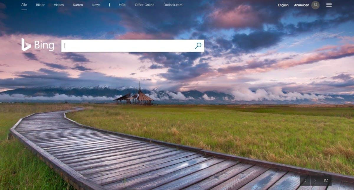 Auch Microsofts Google-Alternative Bing setzt auf AMP