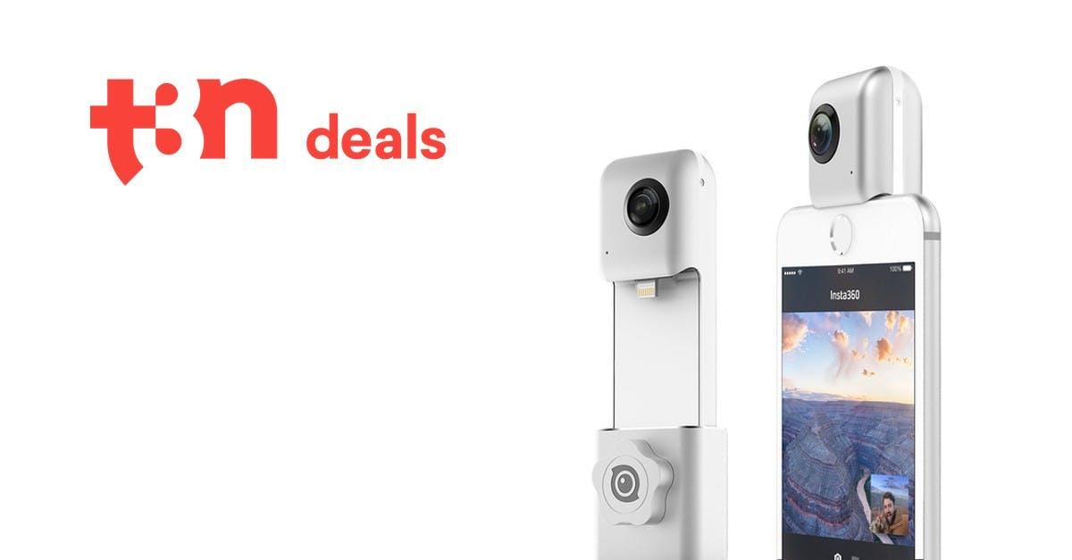 t3n Deal: Hardwrk Insta360 Nano und iPhone-X-Hüllen für t3n-Leser reduziert