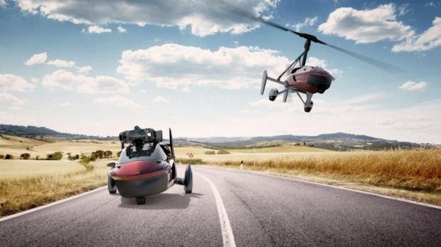 Fliegendes Auto aus den Niederlanden: Das steckt hinter Pal-V Liberty
