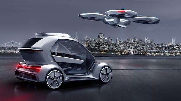 Pop-Up Next: Neue Version des Auto-Drohnen-Systems vorgestellt