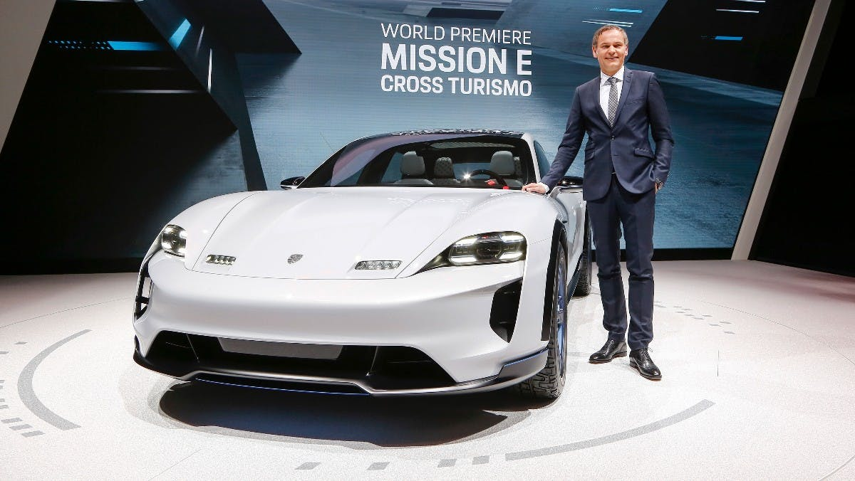 Porsche Mission E Cross Turismo. (Bild: Porsche)