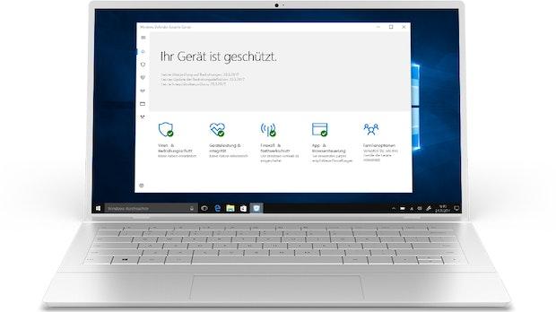 Windows Defender: Microsofts Virenschutz schützt so gut wie kostenpflichtige Apps