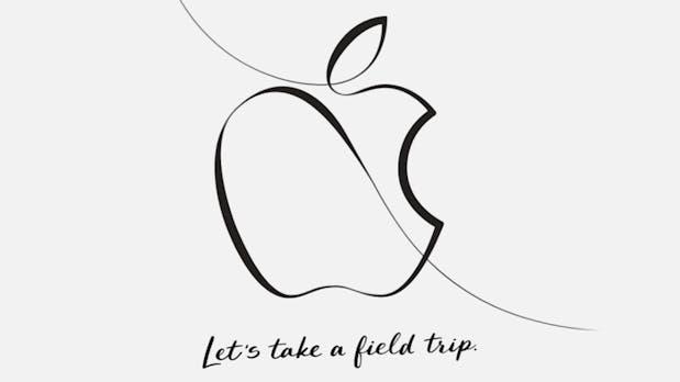 """Let's take a field trip"": Apple lädt zum Event am 27. März"