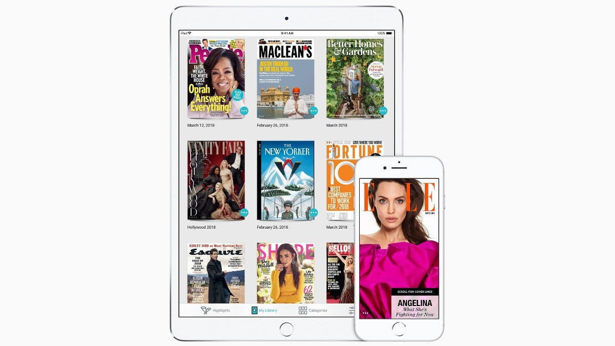 """Texture-Relaunch – Apples """"Netflix für Magazine"""" stößt bei einigen Verlegern auf Widerstand"""