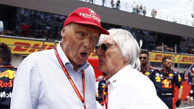 Bernie Ecclestone will die Formel 1 elektrifizieren