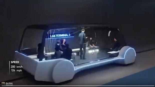 Das Tunnelsystem von Elon Musk soll auch Fußgänger und Radfahrer transportieren