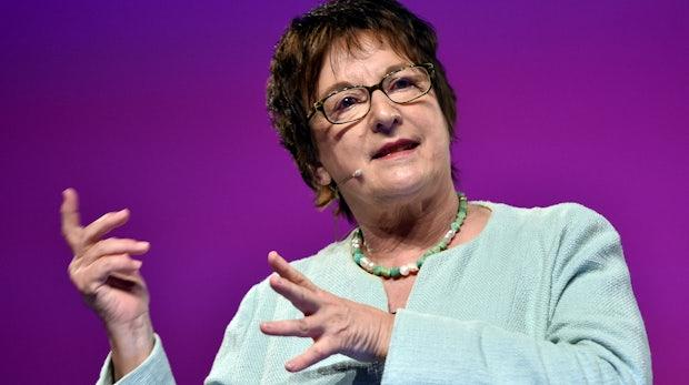Ex-Bundeswirtschaftsministerin Brigitte Zypries will ein Startup gründen