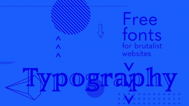 35 brutale Fonts für brutalistische Websites