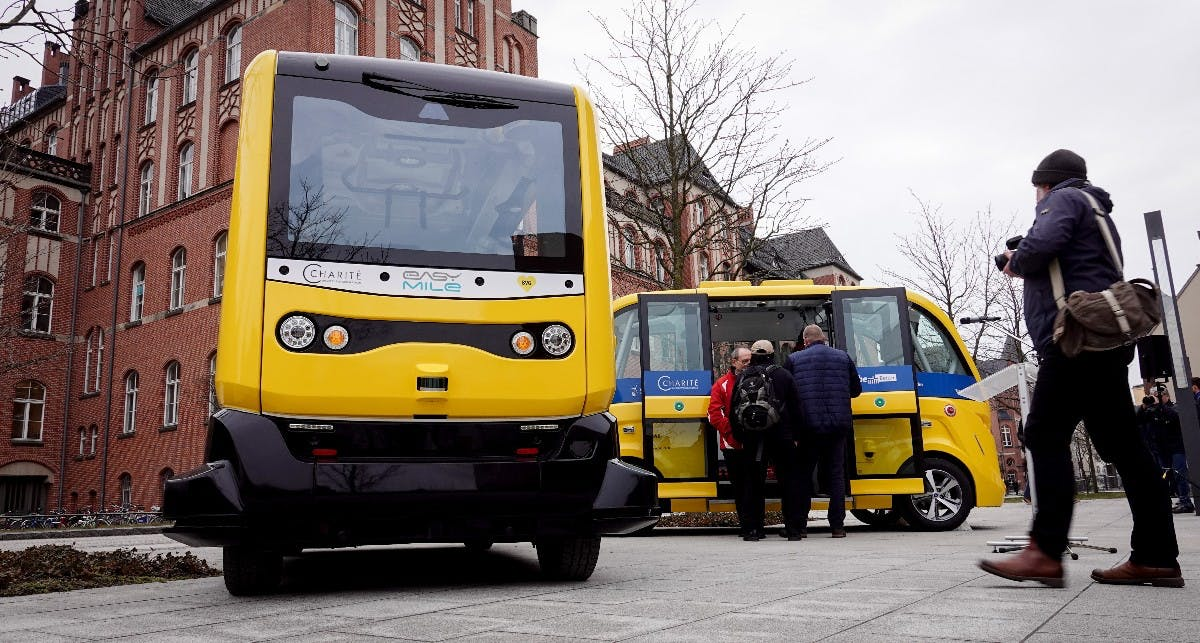 Selbstfahrende Bvg Busse Starten In Berlin T3n Digital Pioneers