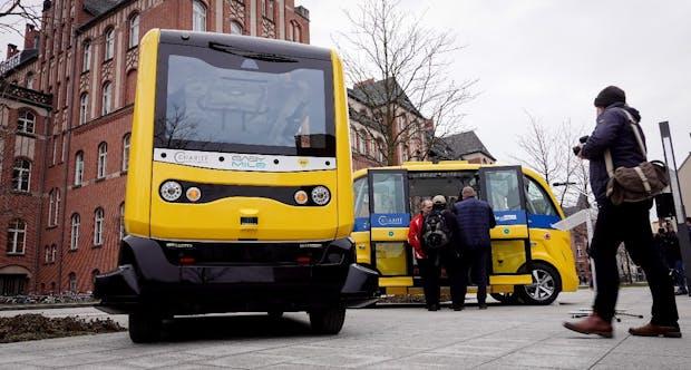 Selbstfahrende BVG-Busse starten in Berlin