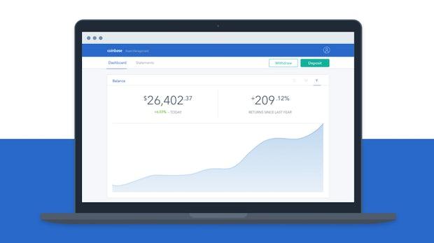 Coinbase startet Index-Fonds für Kryptowährungen