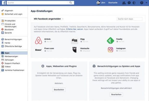 Alle Facebook Apps Entfernen So Gehts Mit Nur Ein Paar Klicks