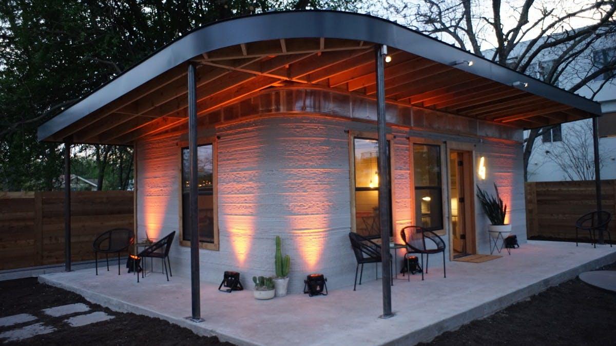 Dieses Haus aus dem 3D-Drucker kostet nur 4.000 US-Dollar