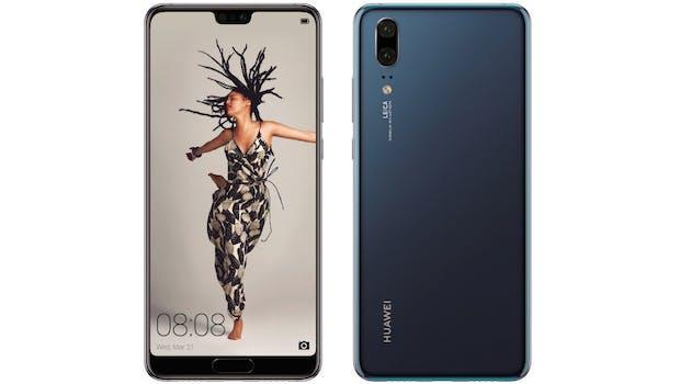 Das Huawei P20 kommt mit Dual-Cam. (Bild: Huawei)