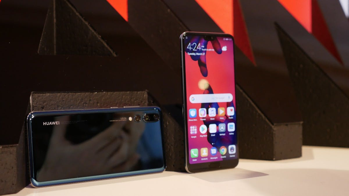 Huawei P20 Pro ist offiziell: Topmodell mit Leica-Triple-Cam kommt mit viel KI