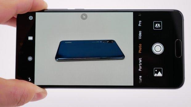Huawei kamera hintergrund unscharf