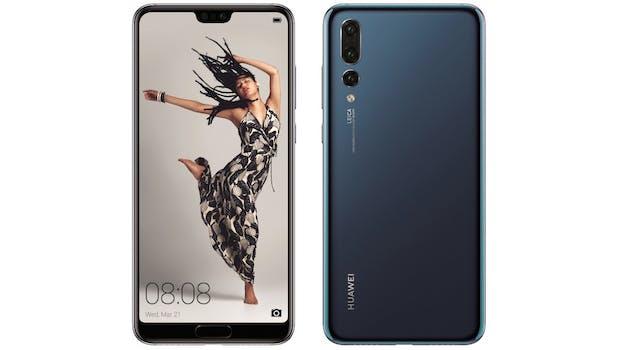 So soll das Huawei P20 Pro aussehen. (Bild: Evleaks)