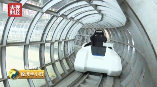 Hyperloop-Konkurrent aus China soll bis zu 1.000 km/h schaffen