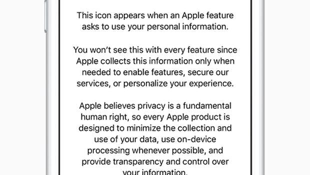 iOS 11.3 bringt bessere Privatsphäreeinstellungen. (Bild: Apple)