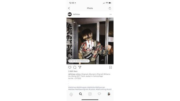 (Screenshot: Instagram/Defshop/t3n.de)