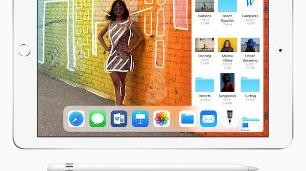Apple stellt iPad mit Apple-Pencil-Support vor