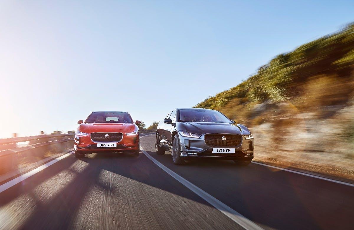 E-Crossover I-Pace von Jaguar. (Bild: Jaguar)