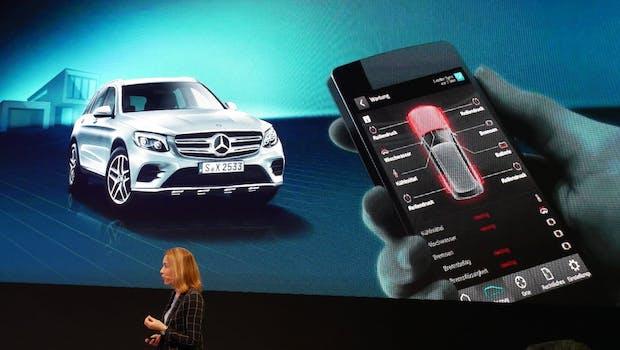 Alle Fahrzeugdaten auf dem Handy.  (Foto: t3n.de)