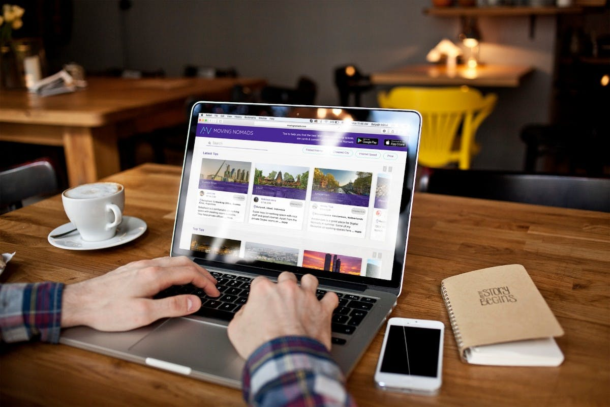 Ein Facebook für digitale Nomaden: Moving Nomads verbindet Reisende aus aller Welt