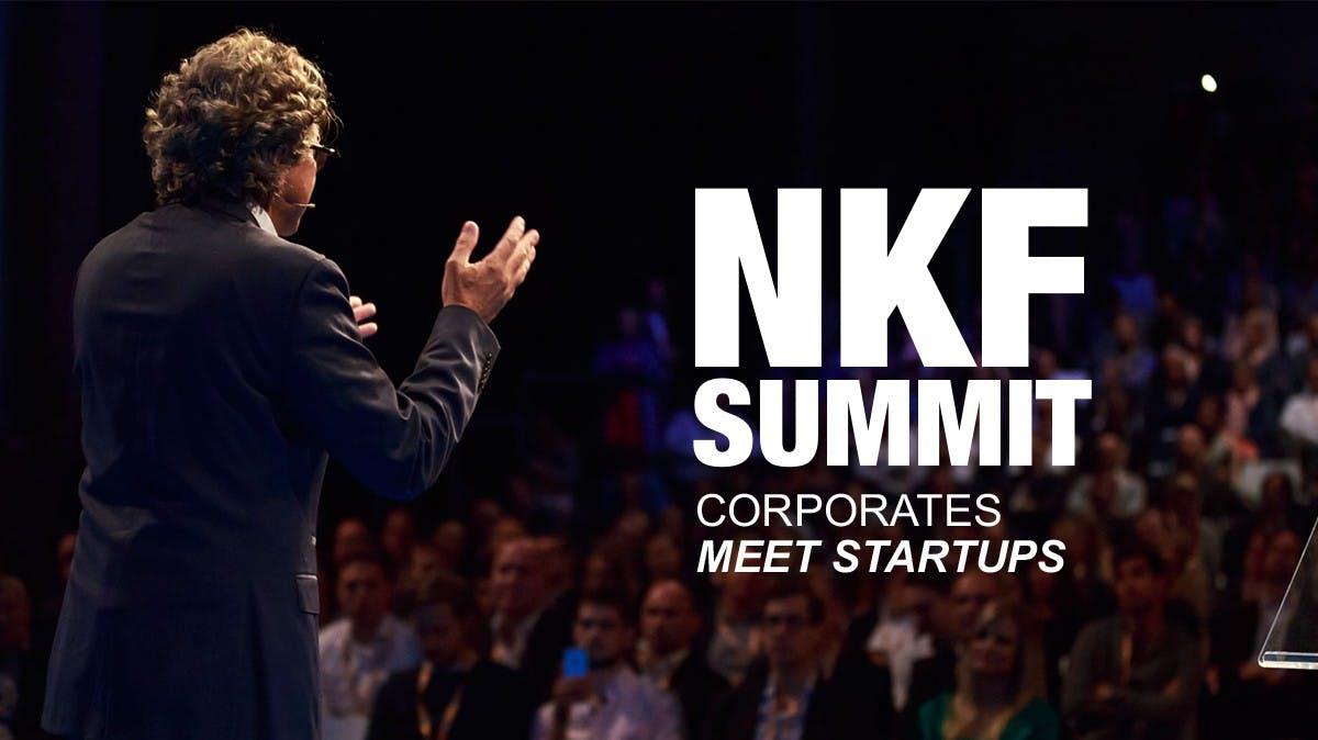NKF Summit: Wie Corporates von Startups profitieren können