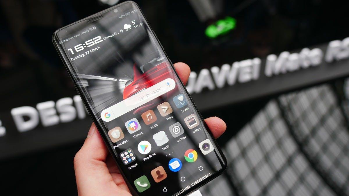 Huawei Mate Porsche Design RS: Dieses Smartphone mit 512 Gigabyte Speicher kostet mehr als 2.000 Euro