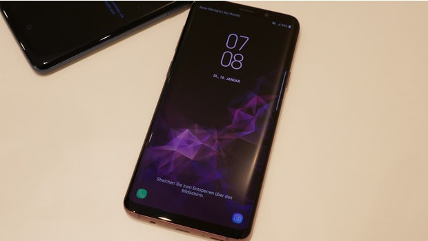 Samsung Galaxy S9 Plus. (Foto: t3n.de)