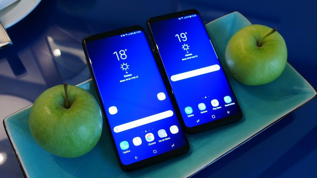 Samsung Galaxy S9 und S9 Plus. (Foto: t3n.de)