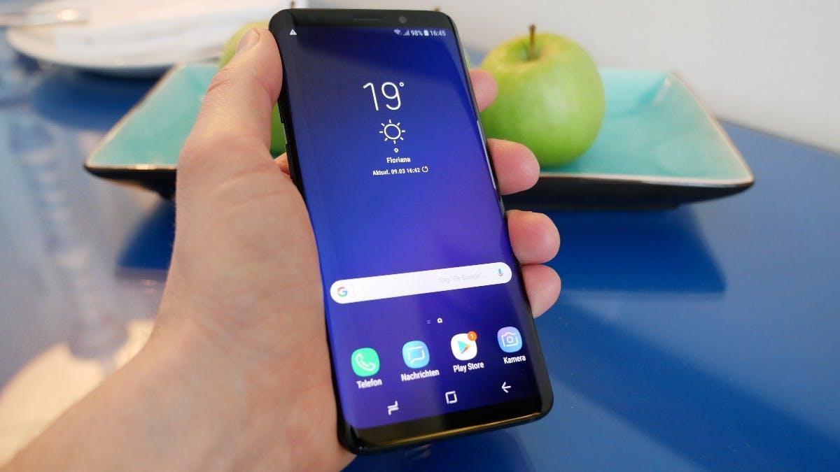 Nachtuhr Samsung S9