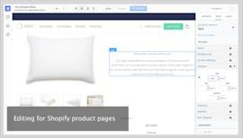 Produkt-Seiten bearbeiten (Screenshot: Shogun)