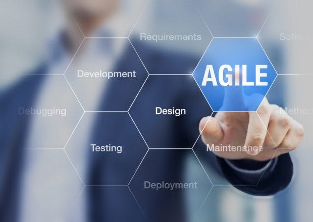 Agile Softwareentwicklung (Foto: Nicoeinino / Shutterstock)