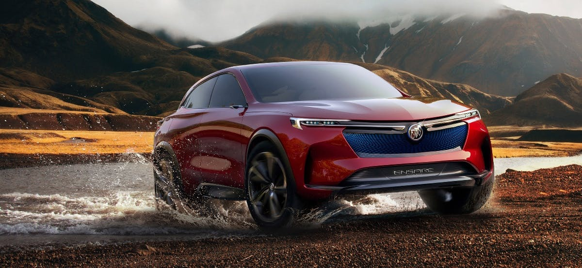 Buick Enspire: Dieses Elektro-SUV-Konzept soll 600 Kilometer ohne Nachladen fahren