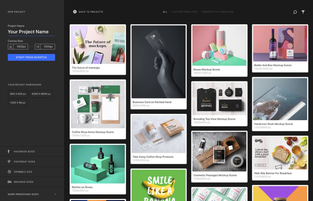 (Screenshot: Behance / Artboard Studio)
