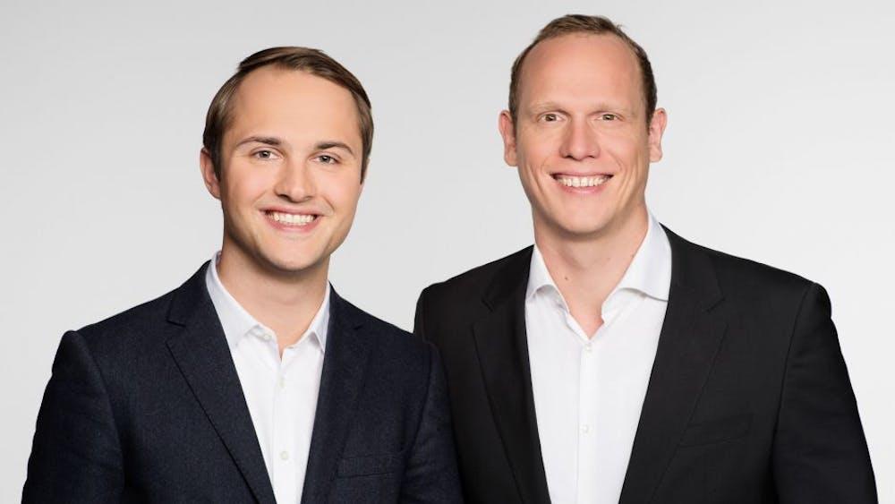 Crossengage-Gründer Manuel Hinz und Markus Wübben (Foto: Crossengage)