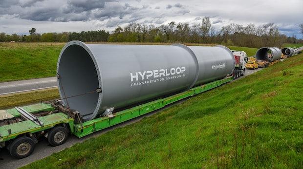 Erste Hyperloop-Teststrecke in Europa im Bau