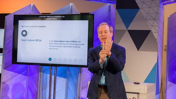 Internet der Dinge: Microsoft stellt Hard- und Software-Plattform Azure Sphere vor