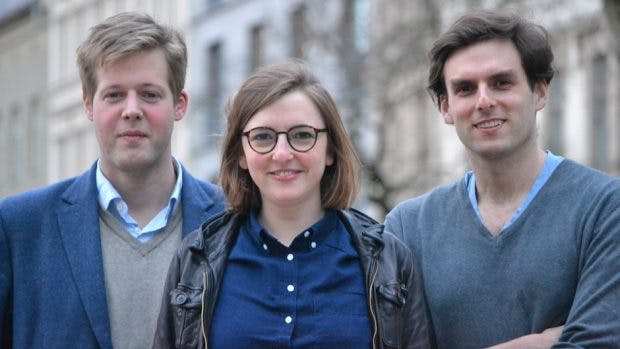 Die Opinary-Gründer Cornelius und Pia Frey sowie Max Meran (links) (Foto: Opinary)