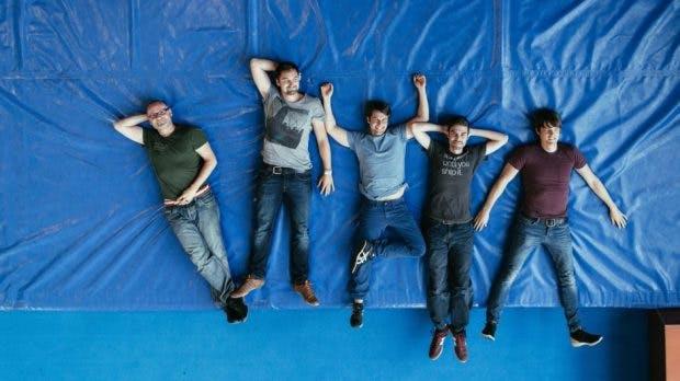 Remerge-Gründer Christian Wolter, Martin Karlsch, Pan Katsukis, Benedikt Boehm, Benjamin Beivers (Foto: Remerge)