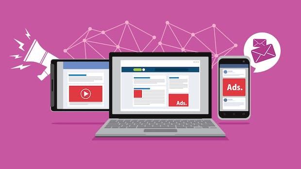 Onlinewerbung bleibt bei Usern kaum im Gedächtnis