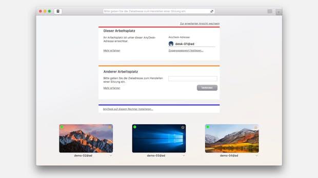 Anydesk 4: Neue Version der Fernwartungs-Software Anydesk ermöglicht